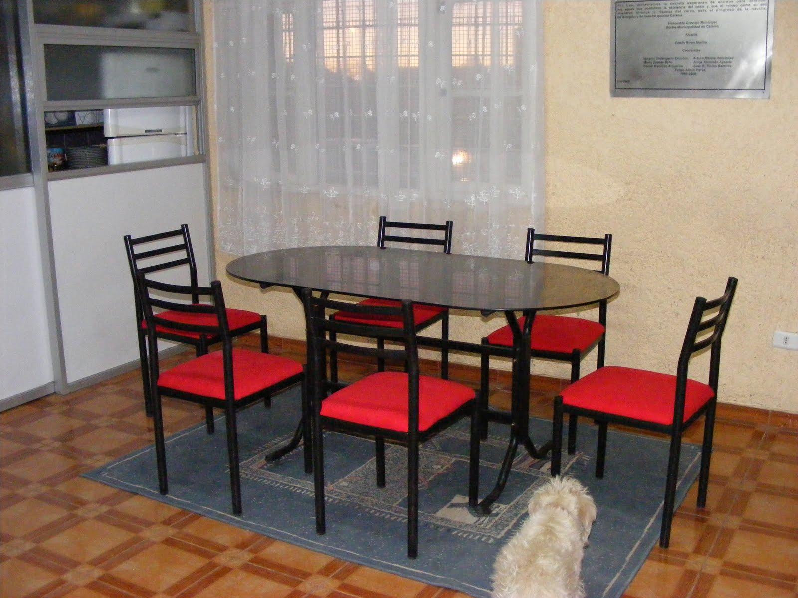 Villa Los Pimientos Calama: Donación tapizado sillas comedor (26/10 ...