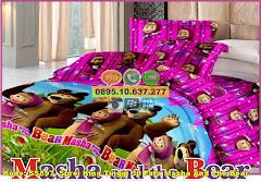 Harga Sprei King Tinggi 30 Fata Masha And The Bear Jual