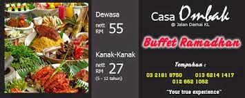 Voucher Sempena Buffet Ramadhan Casa Ombak