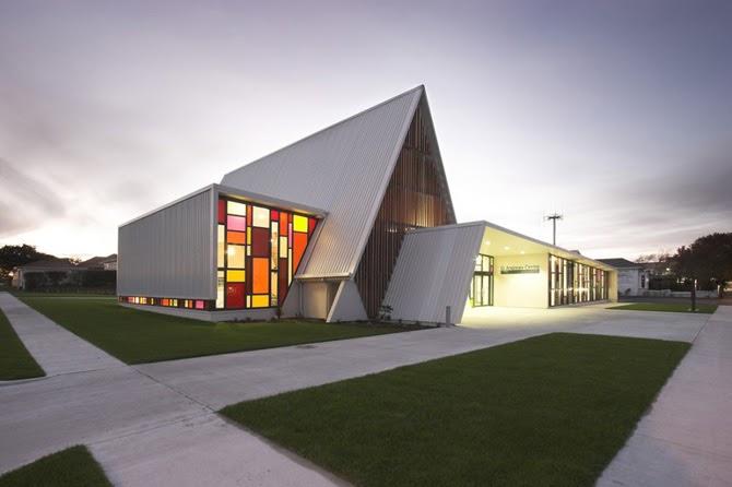 New home designs latest modern house exterior designs for Church exterior design