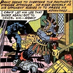 Jack Kirby's Black Panther #1, Cancel him
