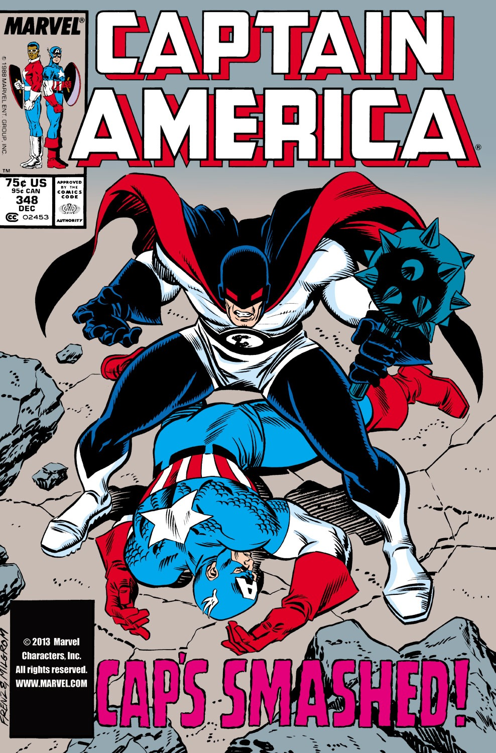 Captain America (1968) Issue #348 #278 - English 1