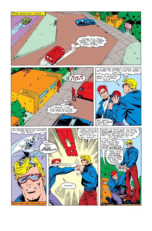 Captain America (1968) Issue #318 #246 - English 14