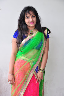 New actress Roshini half saree Picture shoot 030.jpg