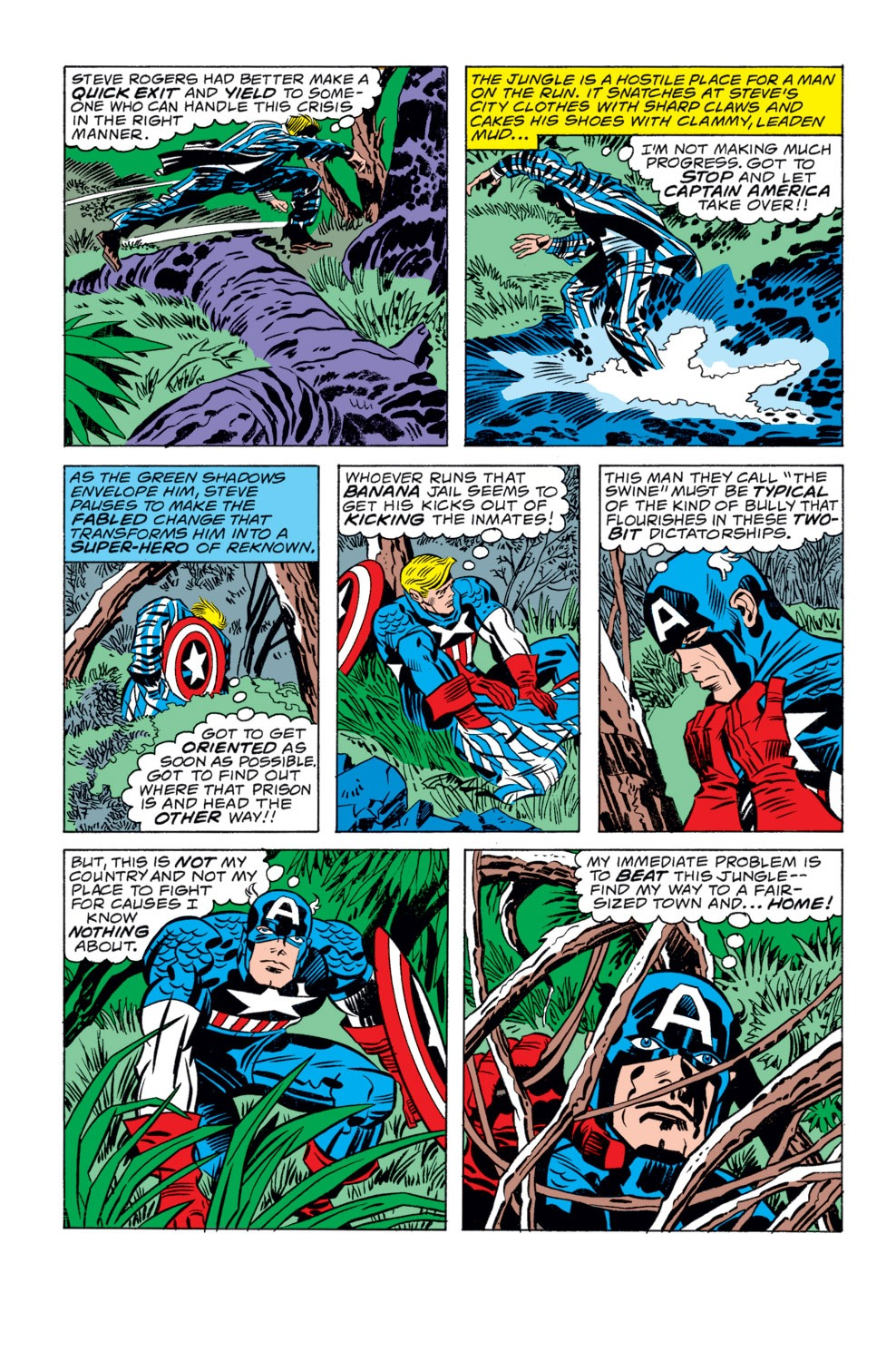 Captain America (1968) Issue #207 #121 - English 6