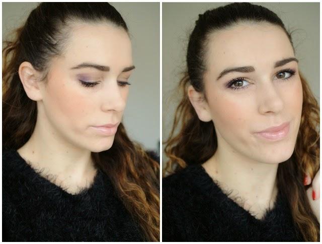 golden shock 5 couleurs palette dior make-up look