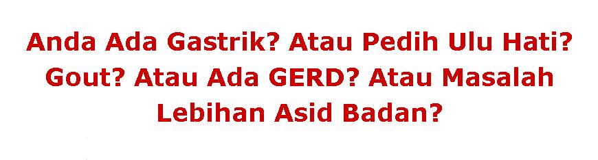 Ubat Gastrik AGP - Terbukti Berkesan Mengatasi Sakit Gastrik!