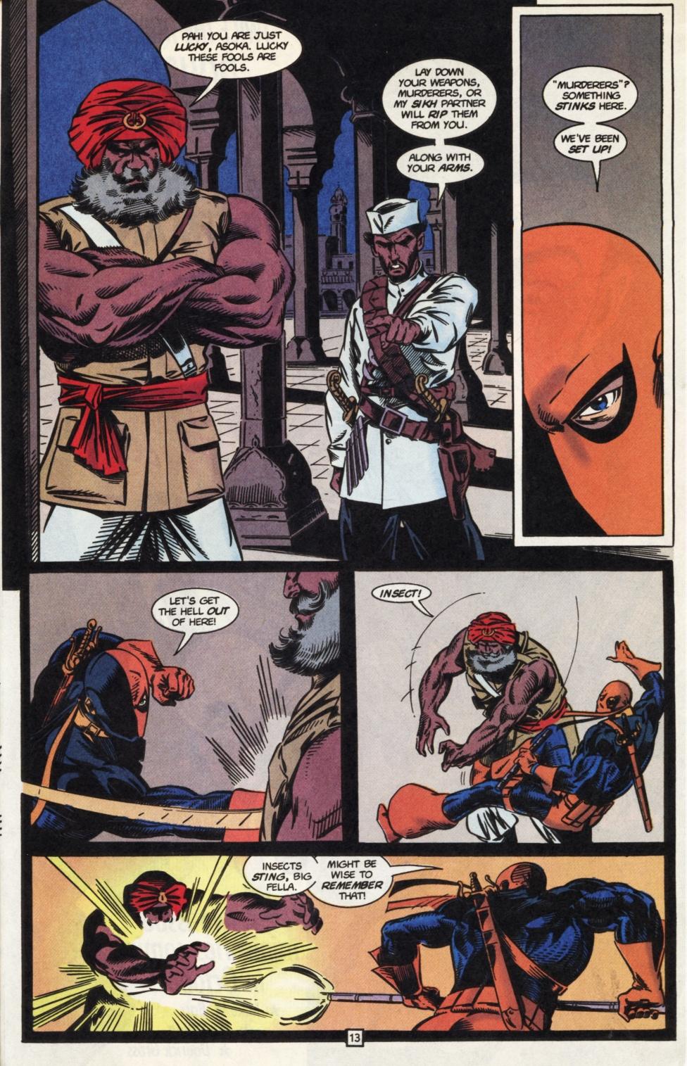 Deathstroke (1991) Issue #31 #36 - English 14