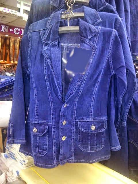 blazer jeans wanita