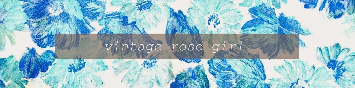 Vintage Rose Girl
