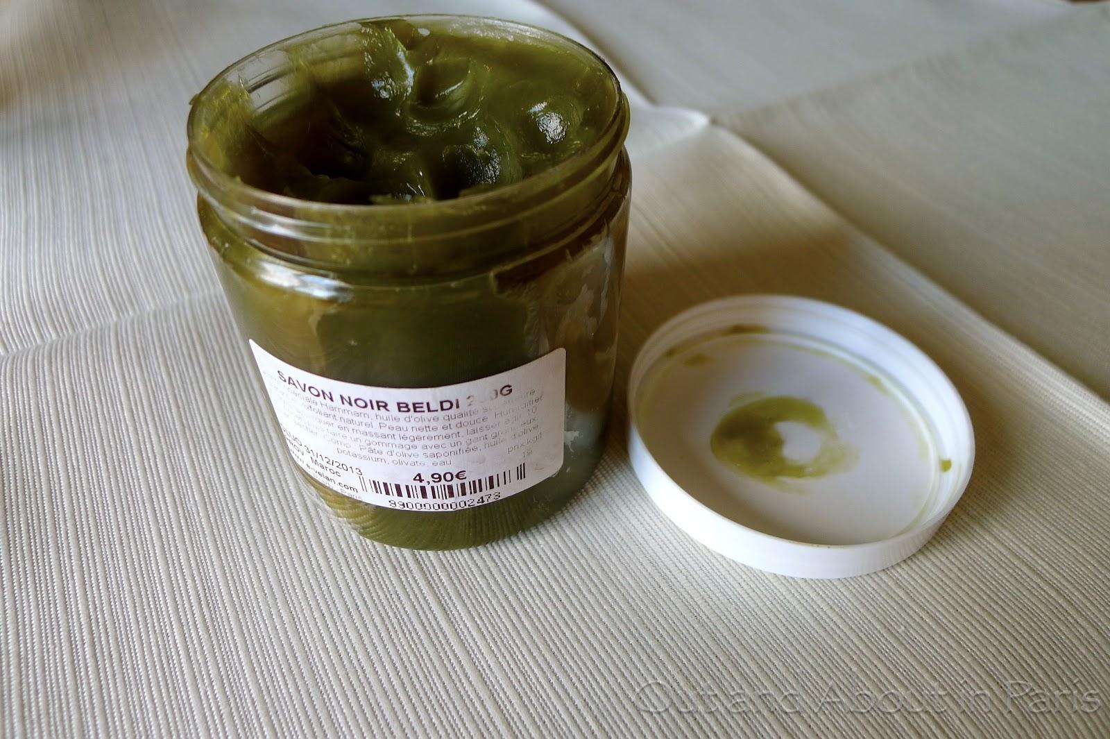 green goop also known as savon noir beldi. Black Bedroom Furniture Sets. Home Design Ideas