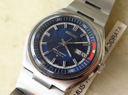 SEIKO BELLMATIC SUNBURST BLUE DIAL PART B - AUTOMATIC 4006 6080 - MINTS CONDITION