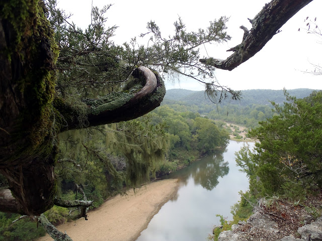 View of the Buffalo River, Buffalo River National Park, Tyler Bend Trails