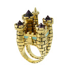 Disney Couture Jewelry ICON 3D Castle Ring