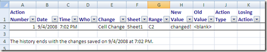 How to Track Changes in Excel 2007تعقب الغييرات في اكسل