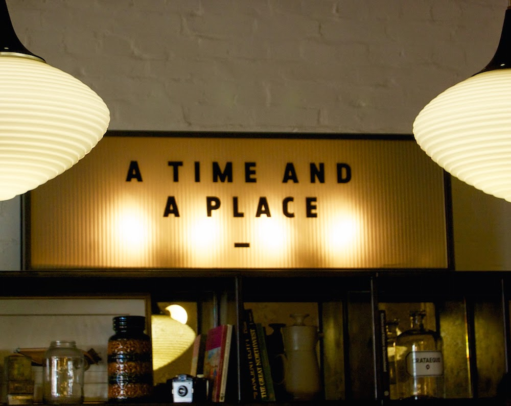 hoxton holborn hotel time place sign
