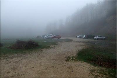 Amplio aparcamiento en Zumarraundi