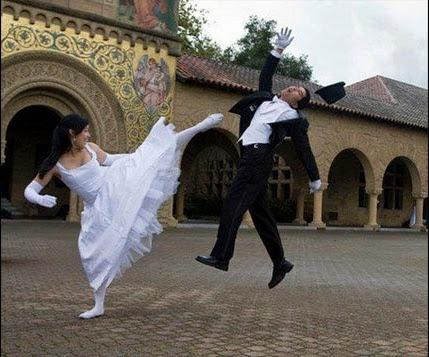 Foto Pre Wedding dengan Konsep Lucu dan Unik