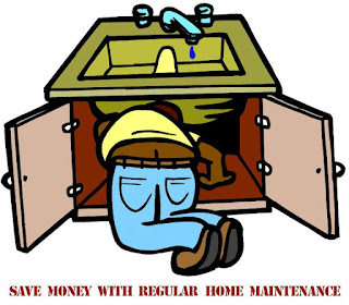 Save Money with Regular Home Maintenance, collage by wobuilt.com