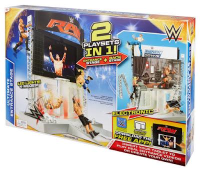 TOYS : JUGUETES - WWE  Super Escenario Interactivo | Ultimate Entrance Stage  Producto Oficial 2015 | Mattel CMJ78 | A partir de 6 años  Comprar en Amazon España & buy Amazon USA