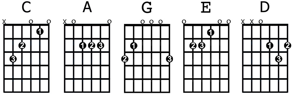 For Beginners : The 8 Most Important Guitar Chords you must know ...
