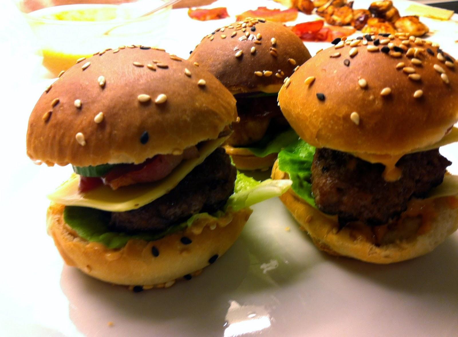 Mini burgere