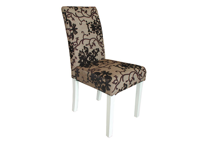 Decorando dormitorios lindas sillas de comedor tapizadas for Sillas negras tapizadas