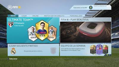 Actualización 1.0.2 FIFA 16, segunda actualización FIFA 16