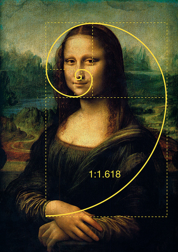 The Mona Lisa Painting.