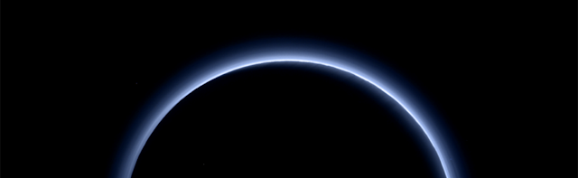Pluto Has Frozen Water and Blue Skies