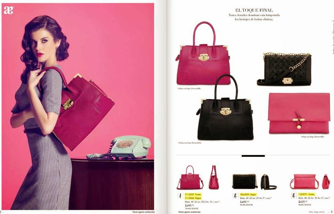 Andrea Accesorios bolsos de mano y carteras 2015