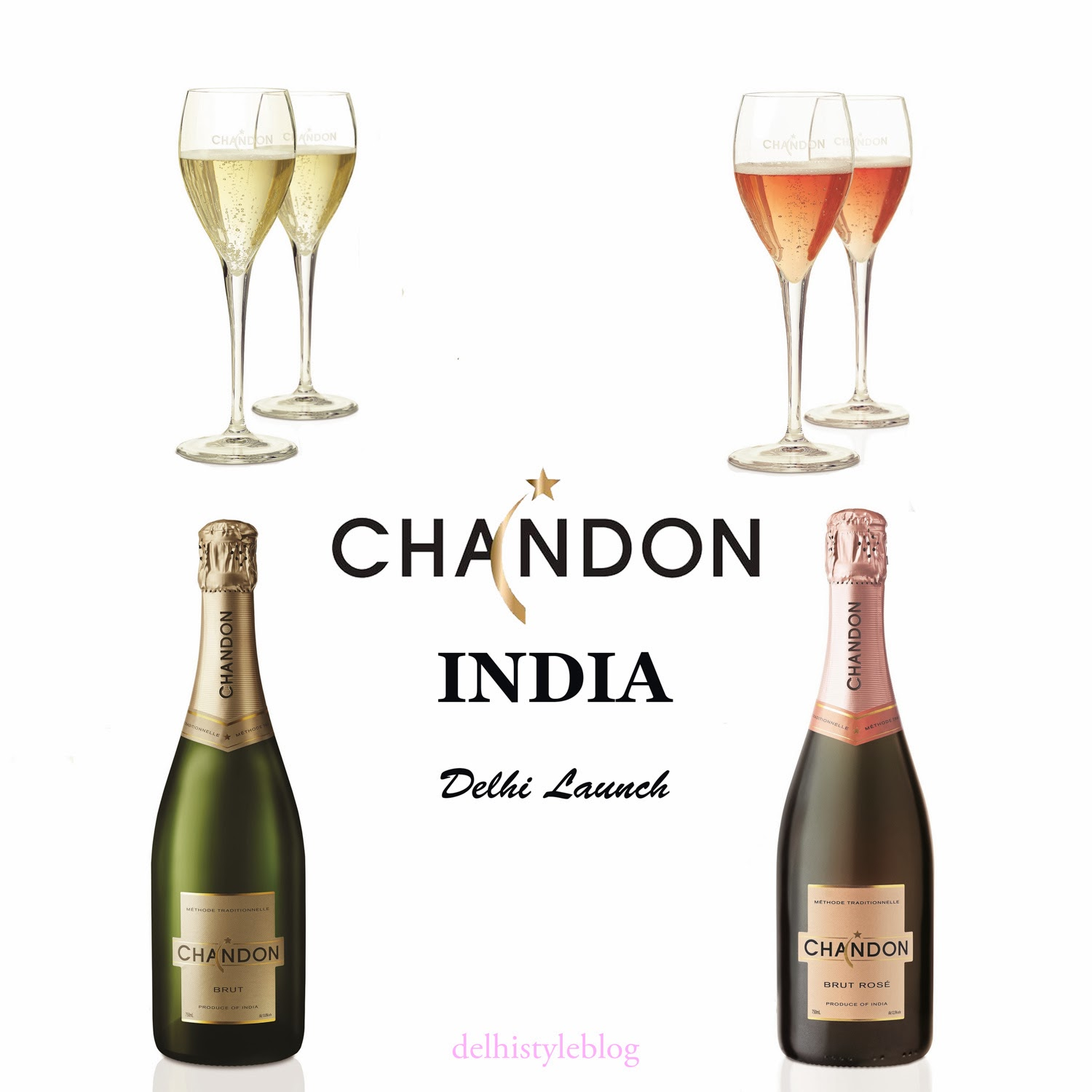 Chandon India Brut Rose Delhi
