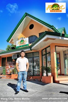 Pancit Center is located in Barangay Kapitolyo, Pasig City
