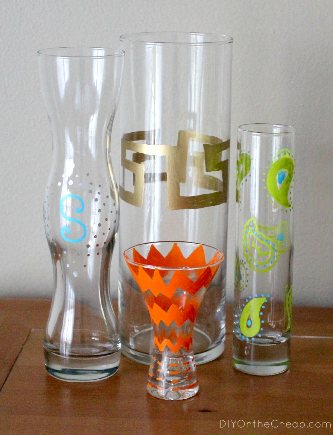 Diy Painted Vase Using Elmer S Painters Paint Markers