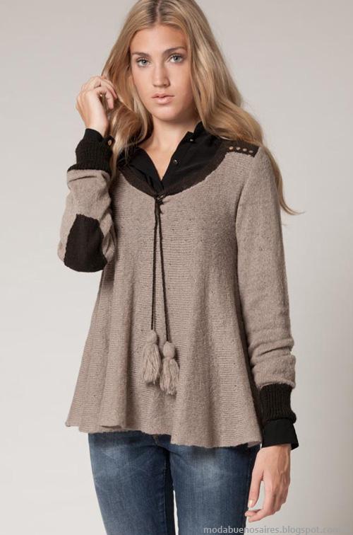 Puloveres Agostina BIanchi invierno 2013 moda