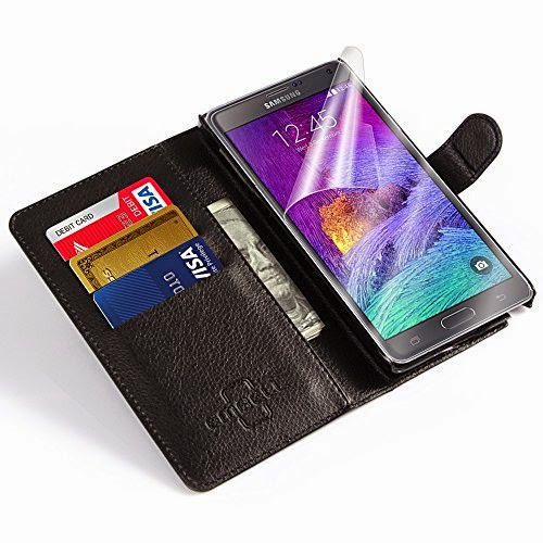 Embell Cases - Galaxy Note 4 Leather Wallet Case