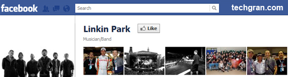 Linkin Park on Facebook, Musician/Band