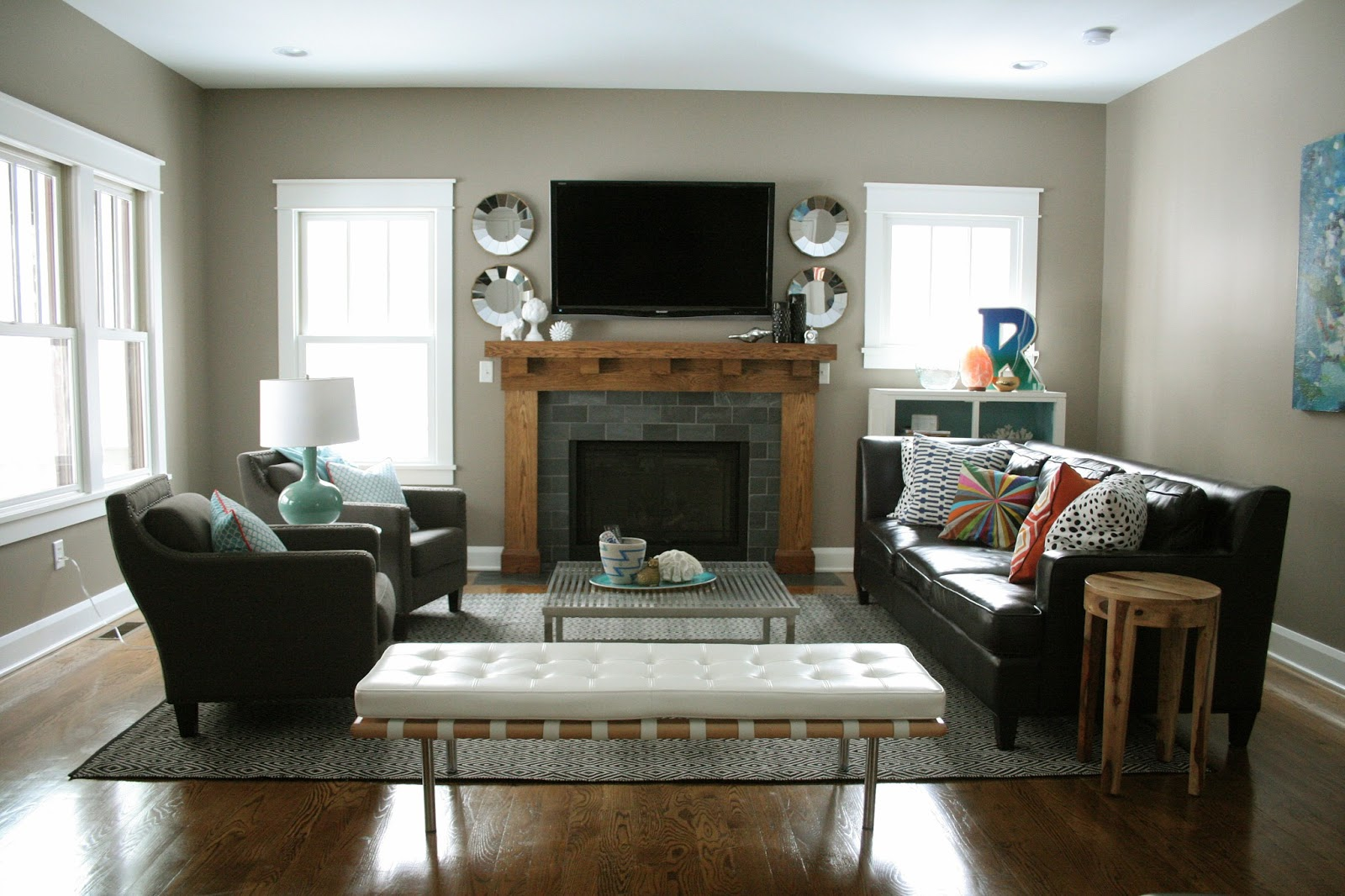 Ideas for arranging furniture in a small living room for Small living room arrangement