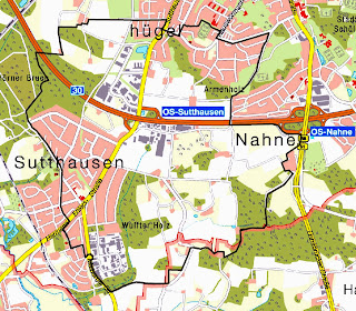 Evakuierungsgebiet, Osnabrück