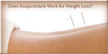Acupuncture for weight loss diet vegetarian