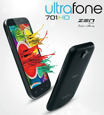Zen Ultrafone 701 HD