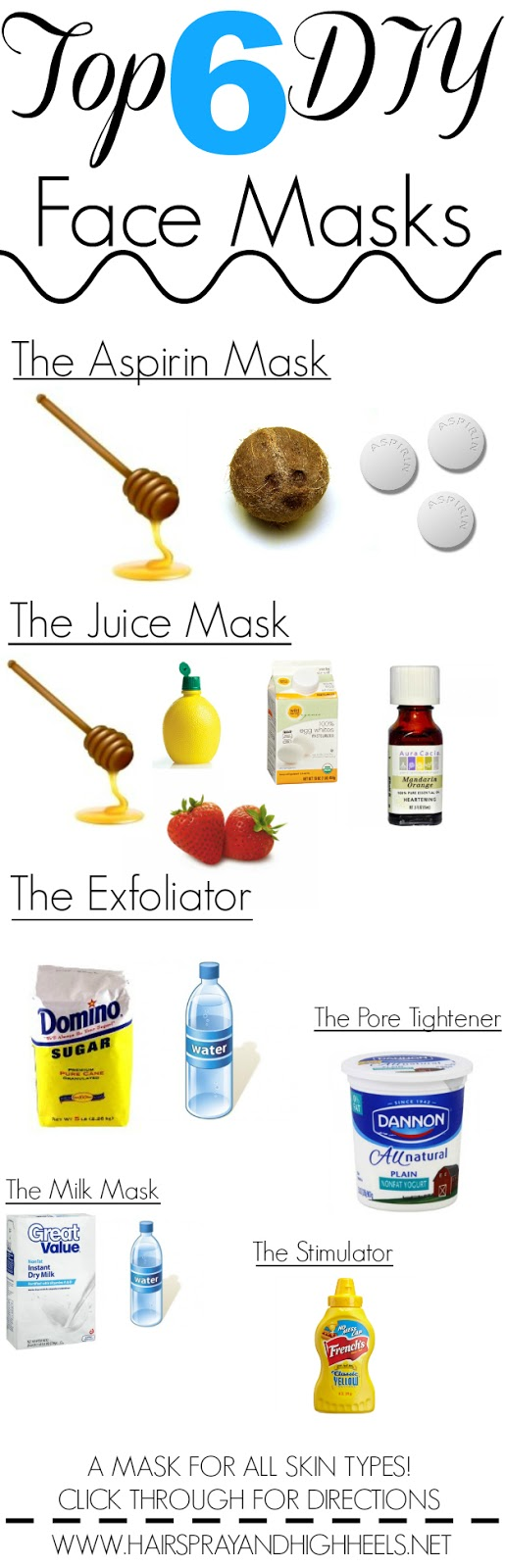 6 DIY Face Masks: All Skin Types