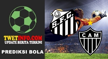 Prediksi Santos vs Atletico Mineiro, Brazil 17-09-2015