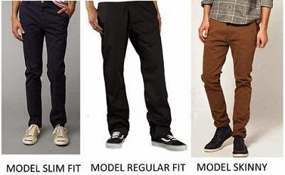 Jenis Jenis Celana Chino Untuk Pria