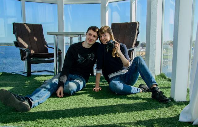 Путешествия: О жизни: Фото на маяке Чебоксары