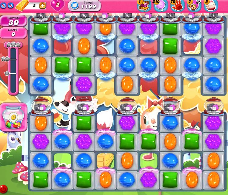 Candy Crush Saga 1199