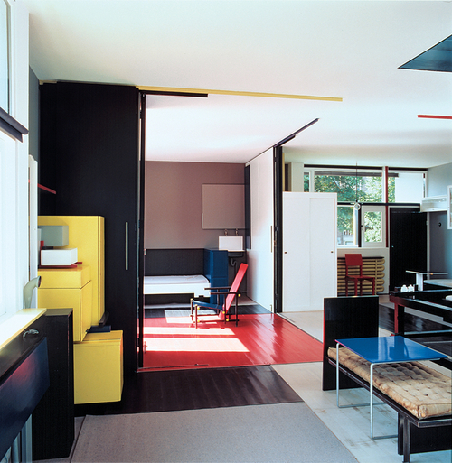 my architectural moleskine gerrit rietveld schr der house. Black Bedroom Furniture Sets. Home Design Ideas