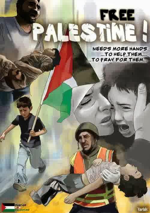Waroengpit Mendukung Free Palestine