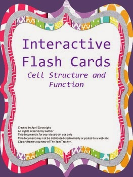 http://www.teacherspayteachers.com/Product/Cell-Structure-and-Function-Interactive-Vocabulary-Flash-Cards-607373