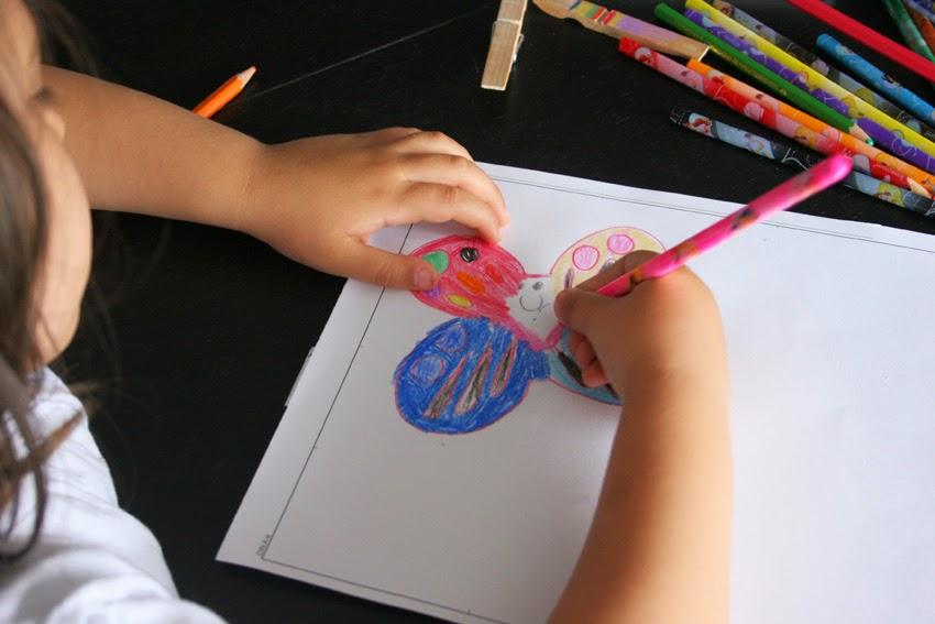 Dibujando la mariposa - Packaging personalizado para el profesor4